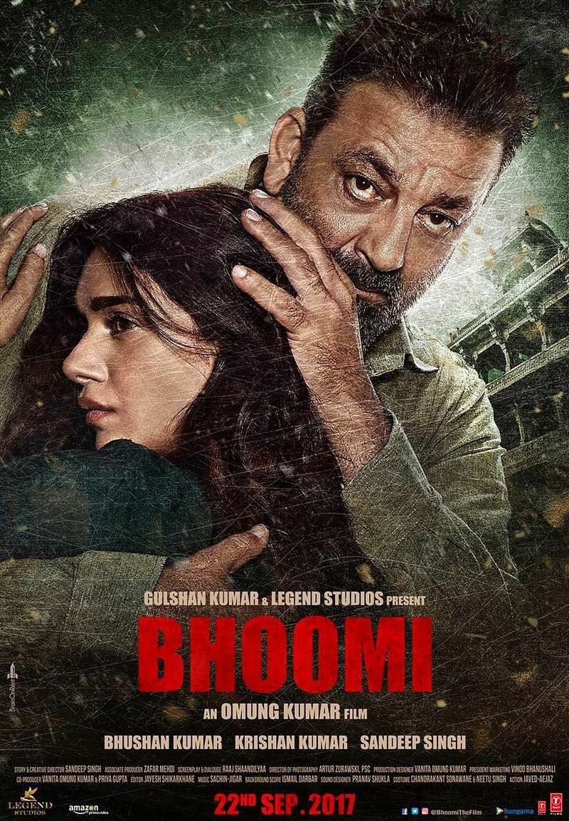 2nd poster of 'Bhoomi' revealed: Sanjay Dutt, Aditi for the first time as a father-daughter duo