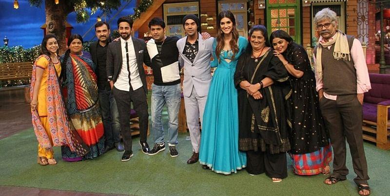 The Kapil Sharma Show: 'Bareilly Ki Barfi' stars Ayushmann, Kriti, Rajkummar have a blast; see pics