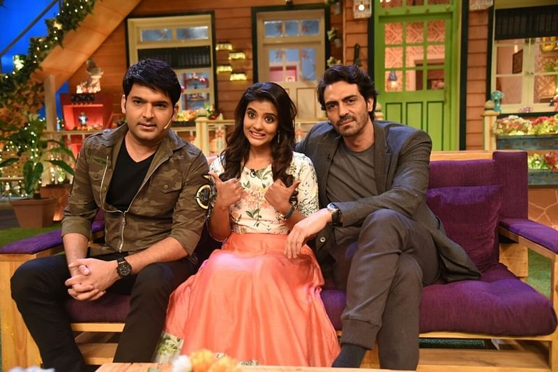 In Pictures: Arjun Rampal, Aishwarya Rajesh promote upcoming film 'Daddy' on 'The Kapil Sharma Show'