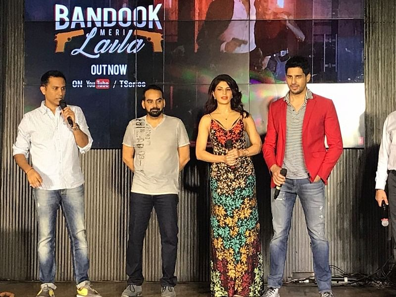 A Gentleman's 'Bandook Meri Laila' song launch: Why Sidharth Malhotra was super excited