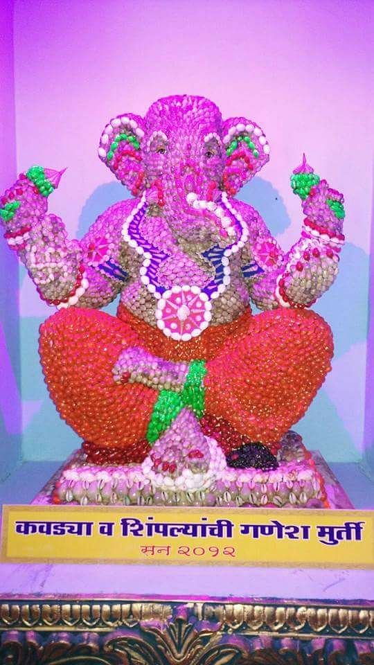 OMG! This Mumbai mandal's Ganesha is made from 1,00,101 agarbattis