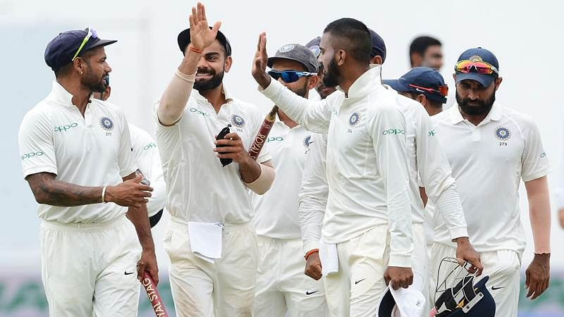India vs Sri Lanka 2017 Tour: Here's the Complete Fixture, Full Schedule, Test Squads