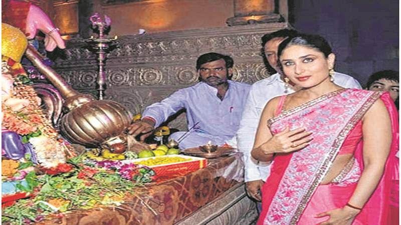 Mumbai: Ganesh Festival: Where the stars twinkle