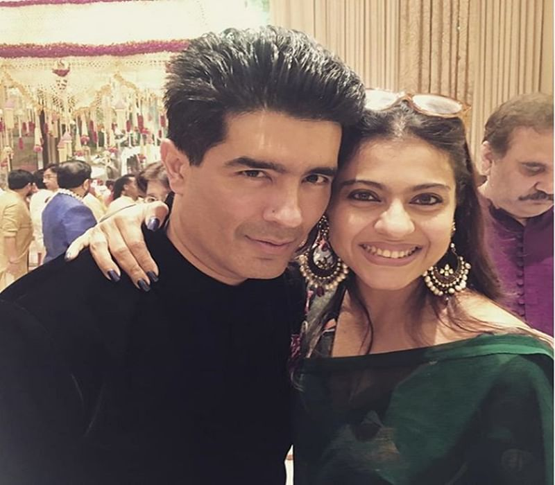 WOW! Vidya Balan clicks a wonderful picture of Kajol and her BFF Manish Malhotra