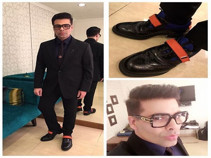 KJo looks suave as he shoots for TED Talks with SRK