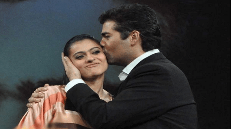 Good News! Karan Johar and Kajol are friends again!