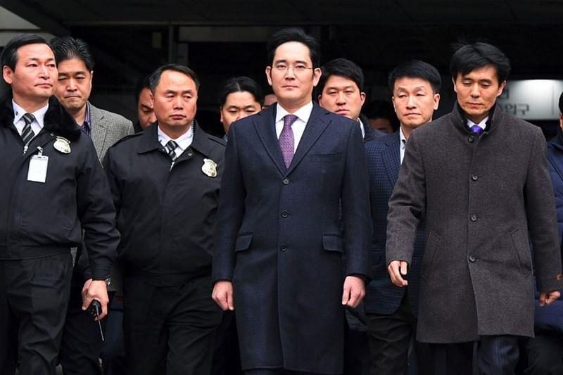 Samsung heir appeals against convictions, jail term