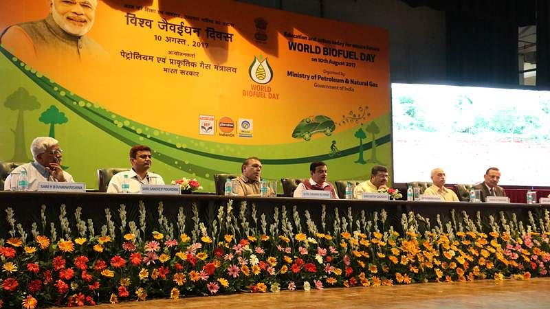 Ministry of Petroleum and Natural Gas celebrates World BioFuel Day 2017