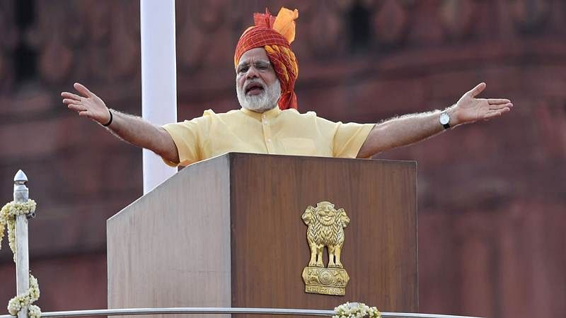 Independence Day 2017: Only love can resolve Kashmir's problems, says PM Modi