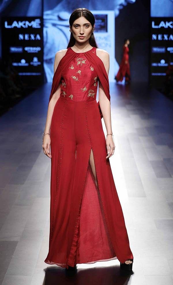 Model walks for Nachiket Barve