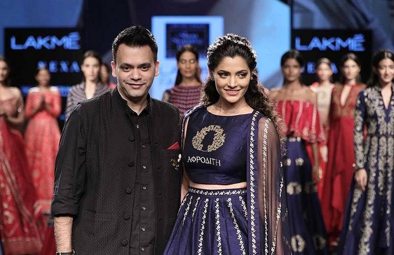 Sayami Kher, Vani Kapoor, raise brows in their festive avatars at Lakmé Fashion Week day 4