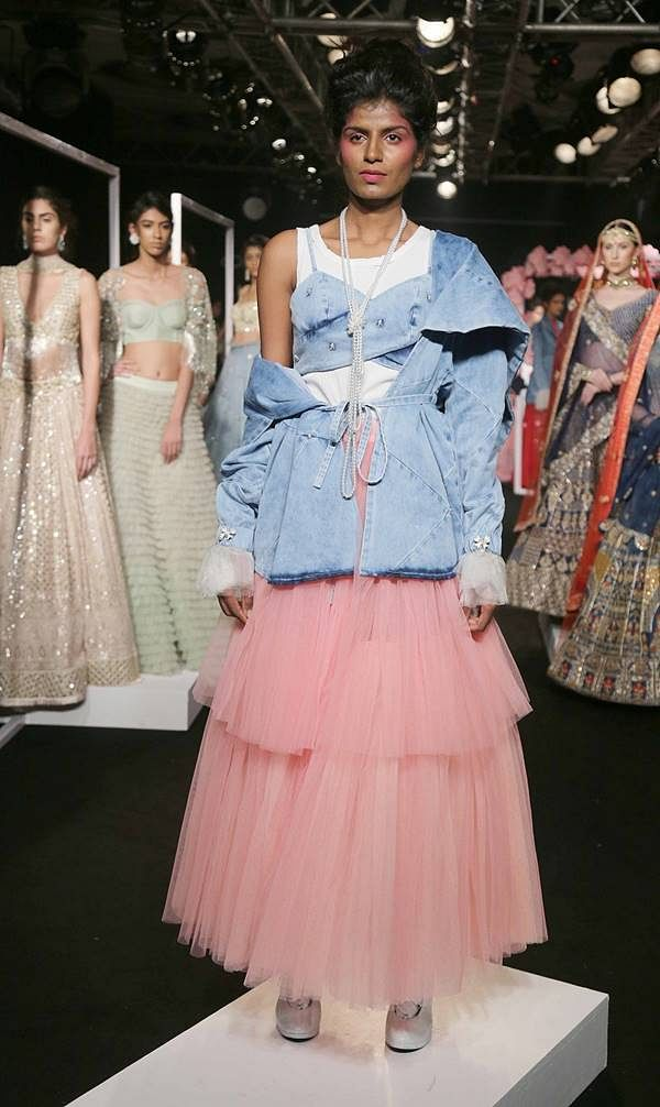 Model walks for Shreeya Somaiya