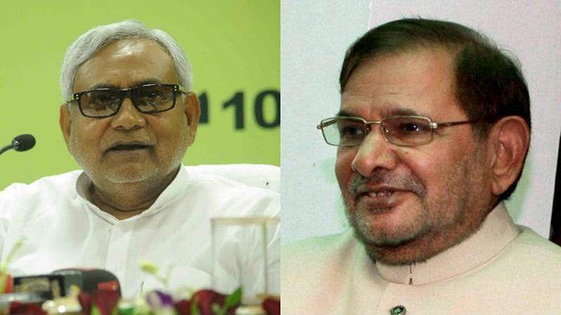 Bihar: Nitish Kumar, Sharad Yadav's supporters clash outside CM's house