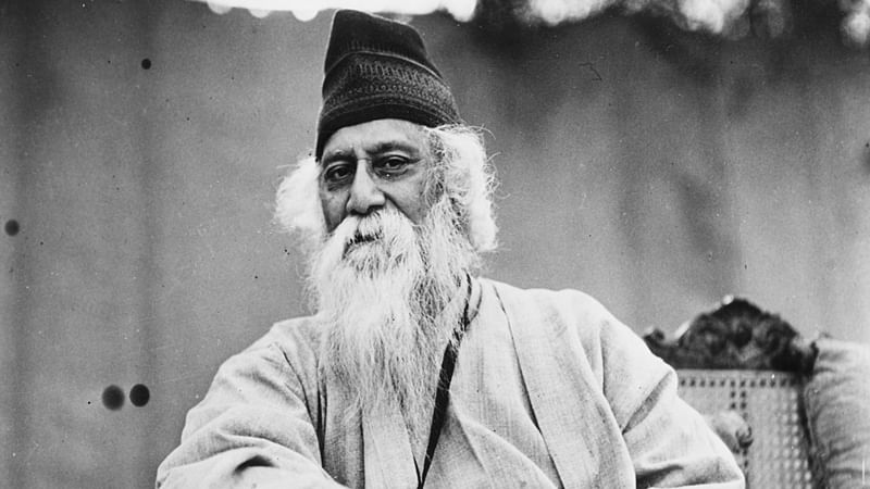 His award was largely for a collection of poems called Gitanjali, or the English translation called 'Song Offerings'.