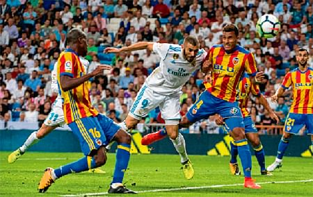 Real halted by Valencia draw