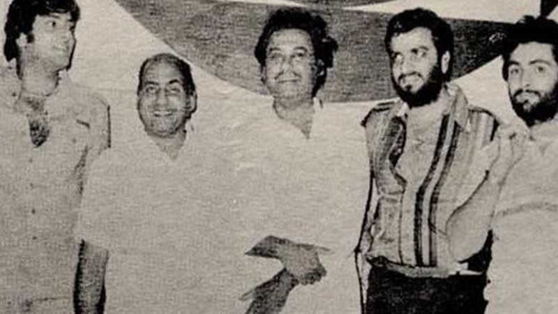 Rishi Kapoor remembers Mohd. Rafi, shares throwback pic
