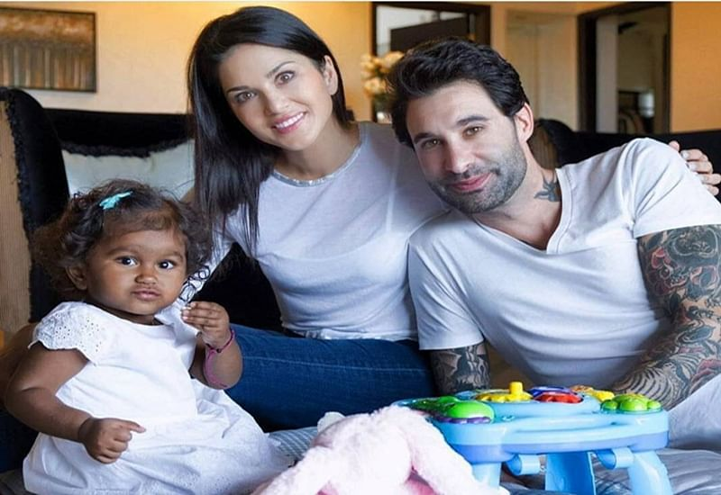 Sunny Leone: Daniel and I are hands-on parents