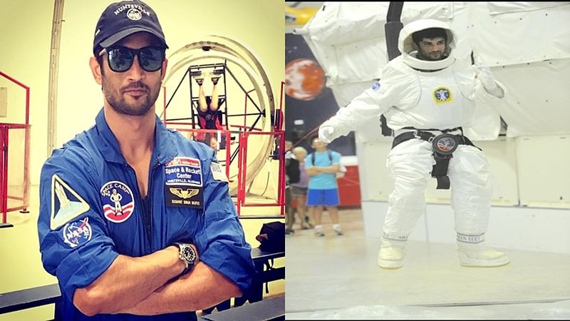In Pictures: Sushant Singh Rajput undergoes special training at NASA for 'Chanda Mama Door Ke'