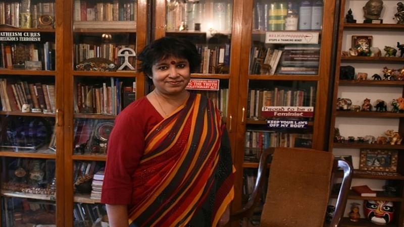 Probe on leak of Taslima Nasreen's travel plans
