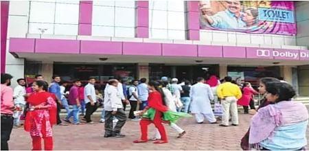 Bhopal: 'Toilet – Ek Prem Katha' releases in city theatres