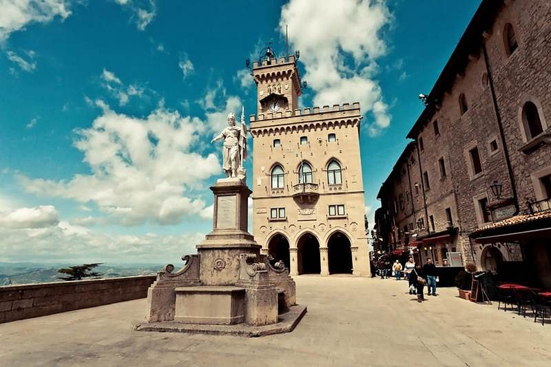 San Marino is a tiny spectacle. Find out why