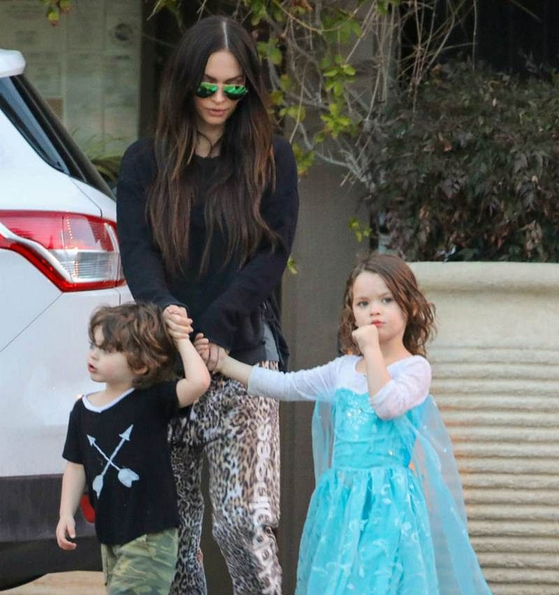 Megan Fox sparks debate with son wearing a dress