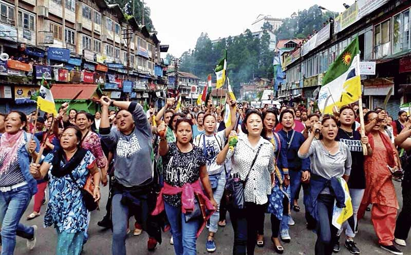 GJM youth wing ends fast, but fight for Gorkhaland continues