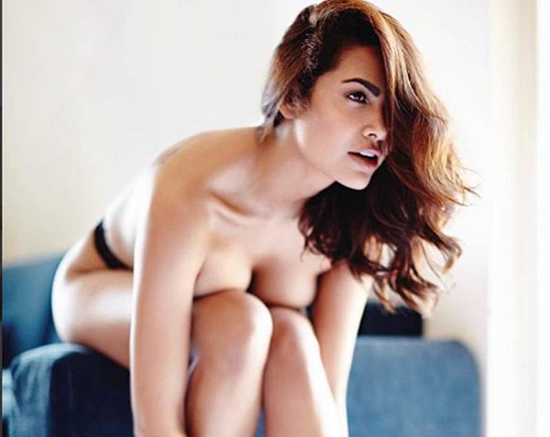Esha Gupta doesn't give a damn about the world's opinion on her hot and sensuous photoshoot