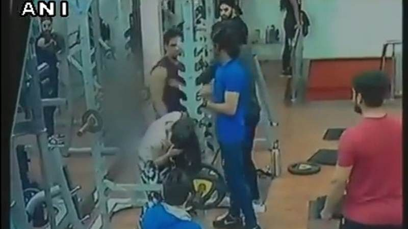 Shocking Video! Man assaults woman in Indore gym after she complains about him