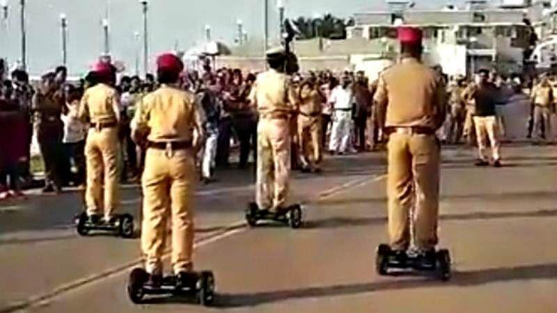 Mumbai cops gets segways to ensure smoother ride
