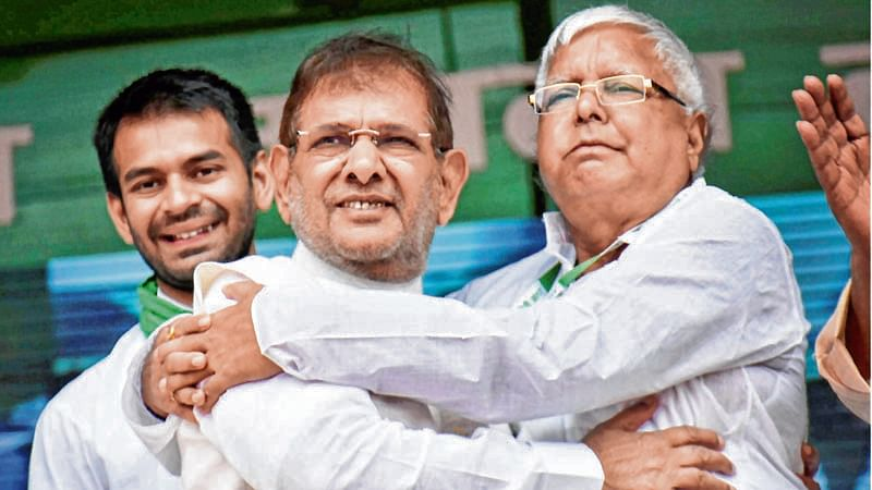Sharad Yadav vows to take on BJP with Mahagathbandhan in 2019 poll