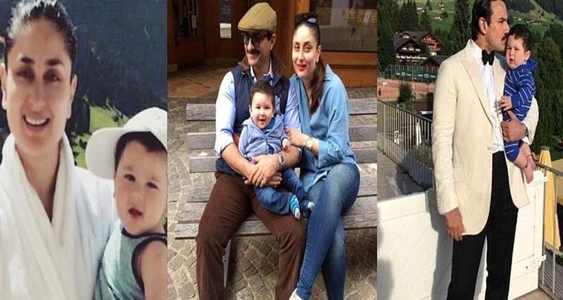 In Picture: Saif Ali Khan, Kareena Kapoor Khan and son Taimur vacationing in Switzerland