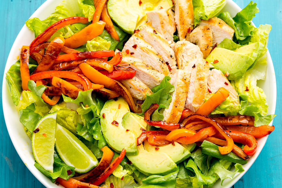 Eat salads to stay healthy