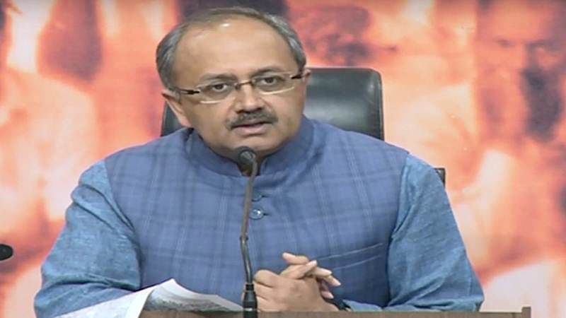 Uttar Pradesh Health Minister Siddharth Nath Singh shares video showing water leakage in his bungalow