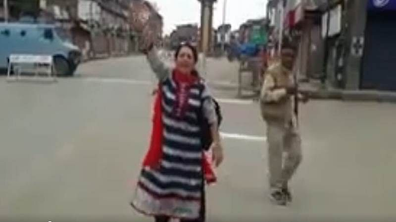 Suresh Raina shares video of Kashmiri Pandit chanting Bharat Mata Ki Jai
