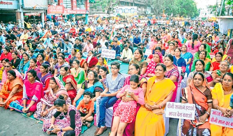 Thousands attend 'Swadeshi-Abhiyan' rally, campaign against Chinese products intensifies in city