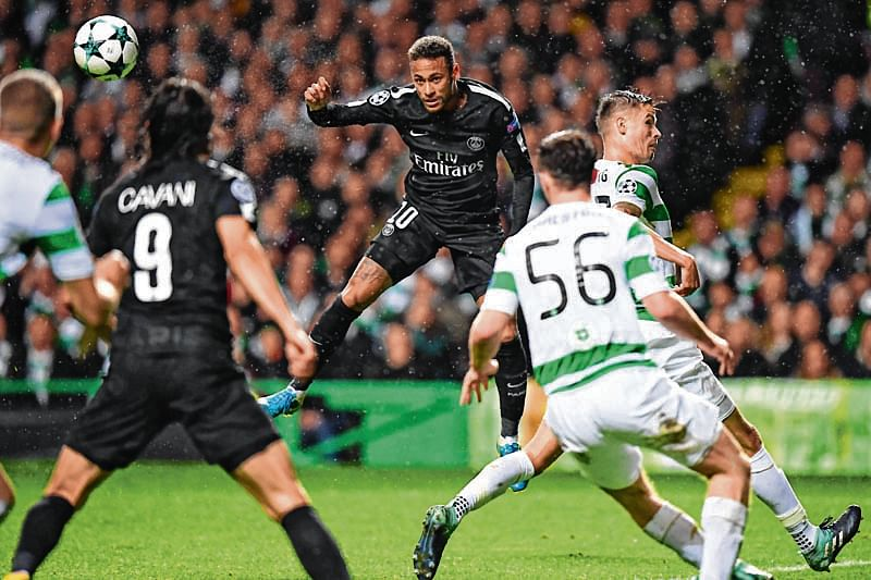 'MCN' lead five-star PSG past Celtic