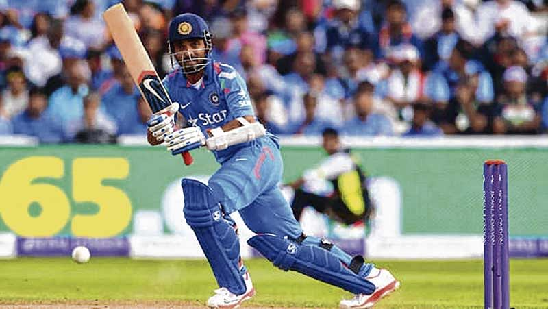 Rahane might come in for Dhawan, hints Rohit Sharma
