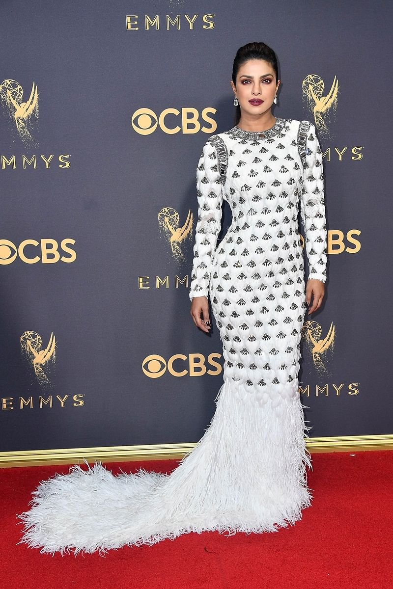 Priyanka Chopra dazzles in white at Emmy Awards 2017