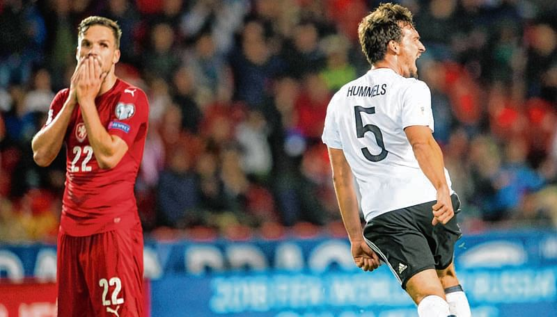 Hummels header edges Germany closer to Russia