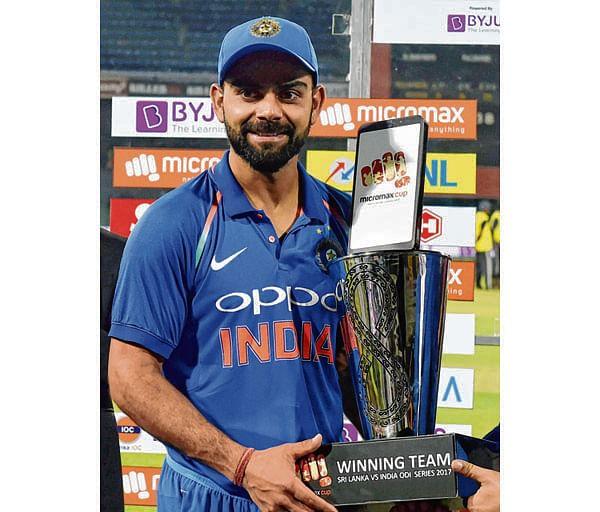 Virat Kohli equals Tendulkar's feat