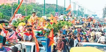 Ujjain: Devotees immerse Ganesha idols on Anant Chaturdashi