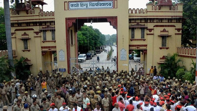 New low for education: BHU students have a problem with a Muslim Sanskrit professor