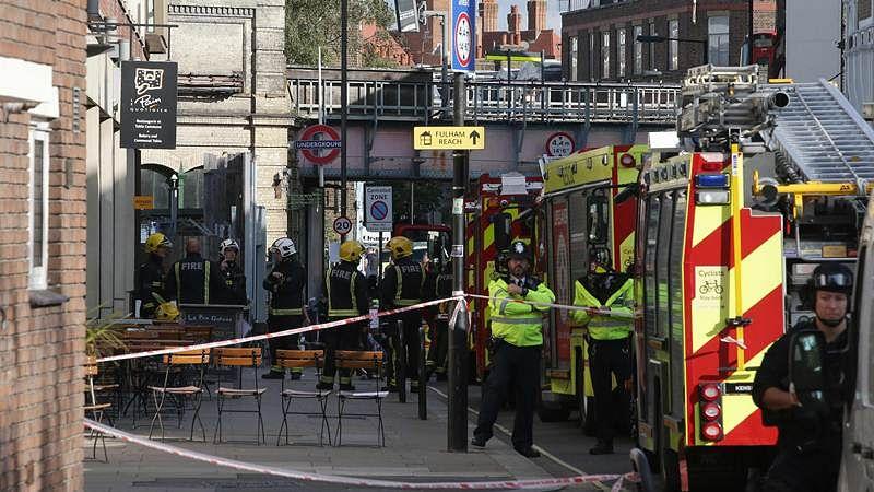 22 injured in 'terror incident' on London Underground train
