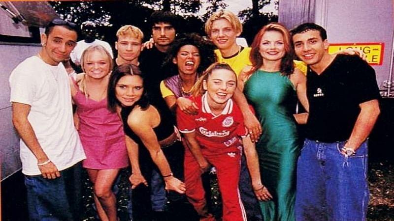 The Backstreet Boys had crush on Spice Girls