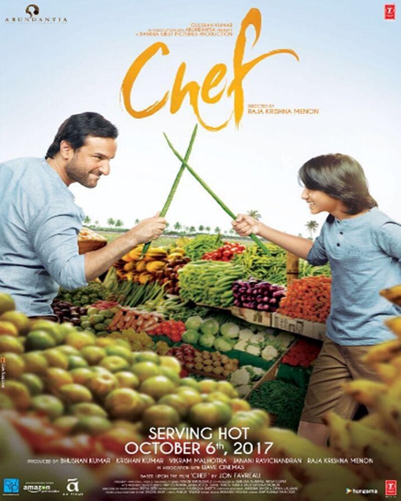 'Chef' new poster: Saif Ali Khan and reel-life son bond over food