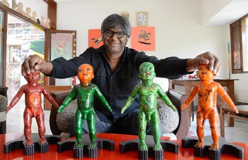 A file photo of artist Chintan Upadhyay