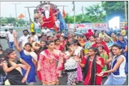 Ujjain: Colourful start to the Shardiya Navratri in Mahakal city