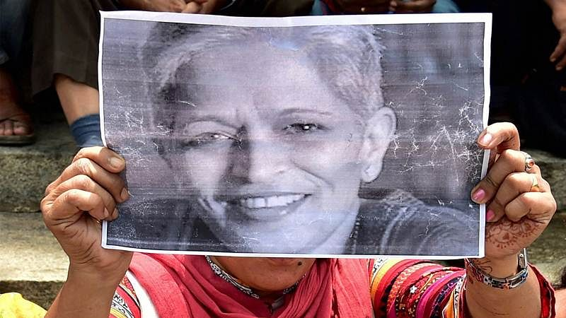 BJP MLA Jeevaraj says Gauri Lankesh would've been alive if she had not written against RSS
