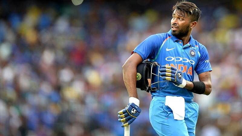 India vs Australia: Hardik Pandya wears Mumbai Indians gloves during 1st ODI, gets trolled